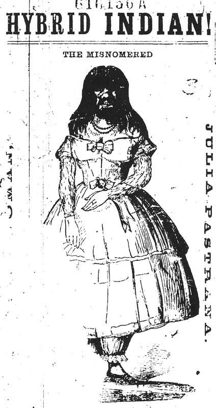 Julia Pastrana, Ad